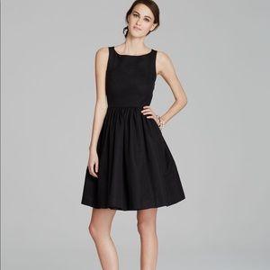 Black Kate Spade Tanner Cross Back Bow Dress